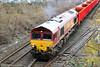 DB Cargo 66051 (Mike McNiven) Tags: dbcargo freight stone railway rail train track diesel northenden dowlow buxton peakforest southampton db ews