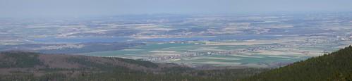Jezioro Paczkowskie z Borówkowej