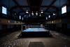 Abandoned Rocky Boxing Ring (rantropolis) Tags: abandoned boxing ring philadelphia urbex urbanexploration sport venue gym stadium rocky movie blue horizon
