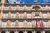 Plaza Mayor (Cataphract) Tags: casadelapanadería madrid plazamayor spain flag comunidaddemadrid