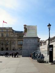 Fourth plinth in Trafalgar Square 2018 (3) rs (Barryoneoff) Tags: trafalgarsquare fourthplinth nelson themall pallmall lamassu