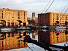 IMG_6569 (Gussyfinknottle) Tags: liverpool albertdock dock worldheritagesite liverpoolcathedral cathedral anglicancathedral liverpoolanglicancathedral brick brickbuilding building architecture ship rigging reflection reflections water warehouse industrial heritage england britain beautiful