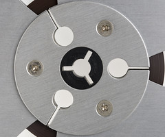 Reel collection of circles -[ HMM ]- (Carbon Arc) Tags: macromondays circles audio recording tape reel spool round aluminum macro