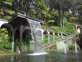 Monte Garden waterfall