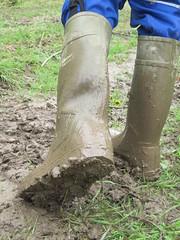 Classic Dunlop Purofort in action (Noraboots1) Tags: dunlop dunlops purofort wellies rubber boots gummistøvler gummistiefel workwear arbejdstøj landmand farmer mud workboots
