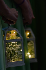 Bridesmaids' Lanterns (matthewken4722) Tags: friends weddings stilllife macro bridesmaid braidsmaid tadandsarahswedding bridesmaidslanterns