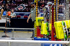 IMG_7747 (holytrinityrobotics) Tags: oakville omgrobots light event coverage robot robotics hersheyscentre gold mechanical electrical pneumatics onchampsfrc first firstcanada frc ontario tronic titans