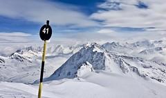 Piste 41 (Fotis Korkokios) Tags: österreich austria winter mountain berg sölden ski piste 41 snow mountaintop sky alps tyrol alpinelandscape