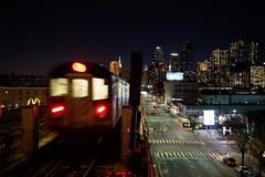 the 7 train (grapfapan) Tags: genre newyorkcity queens ubahn usa railways travel