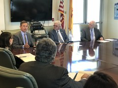 Roundtable At Hispano Chamber With Sandia Labs, April 4, 2018