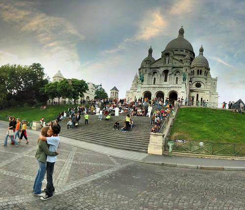 Basilique du Sacré Coeur - 10-08-2006 - 21h05 por Panoramas.