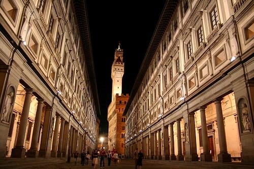 Galleria degli Uffizi by cfwee.