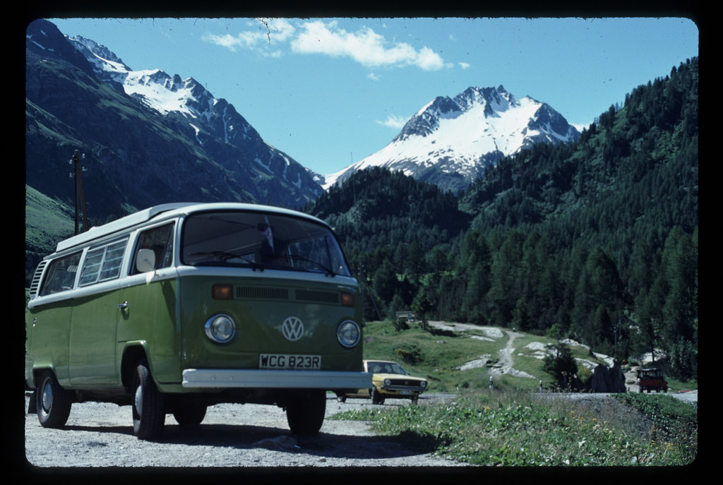 VW Camper Van August 1977 on SquobStock