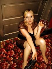 Locked Out (james_michael_hill) Tags: woman usa cute sexy girl america hotel saturated genna saturation gen eurekasprings jmh genvieve jamesmichaelhill