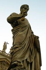 San Pietro (Jasiot) Tags: world italien italy vatican rome roma heritage church statue nikon europa europe italia kirche unesco vaticano chiesa peter coolpix rom petrus italie worldheritage vatikan nikoncoolpix3200 koci coolpix3200 apostle rzym wochy watykan e3200 aposto jasiot