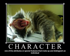 STRENGTH iN CHARACTER - by aJ GAZMEN ツ GucciBeaR