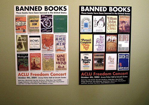 Read a banned book today by katmere.