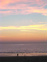 Sunset / Coucher de soleil (vemma) Tags: sunset sea beach water valandré dahouët fcsea