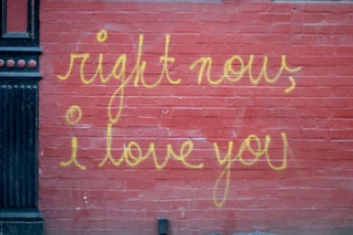 right now i love you, 2/5/05 / razing