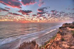 Del Mar sunset HDR