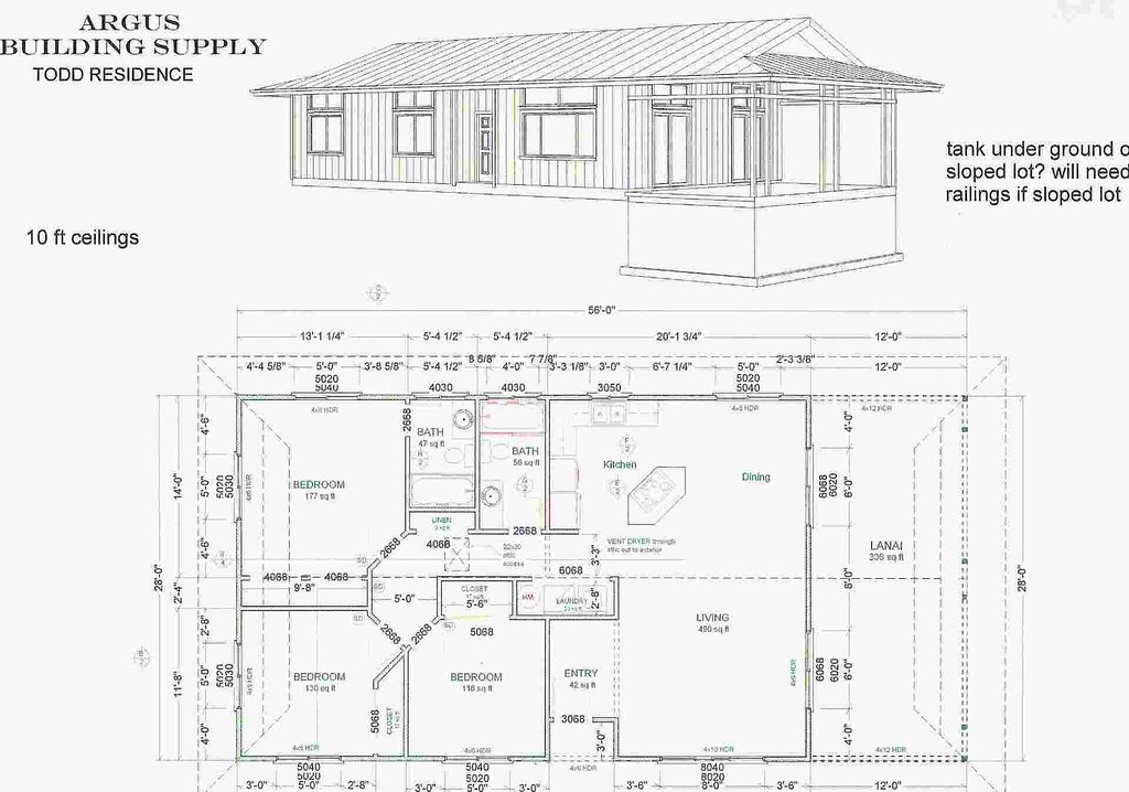 Nanawale house plans