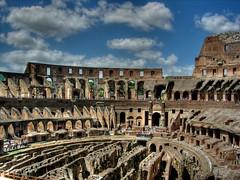 Roma - Inside Colisseum