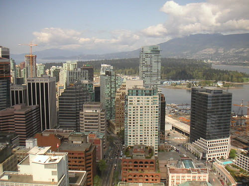 Vancouver from Harbour Centre