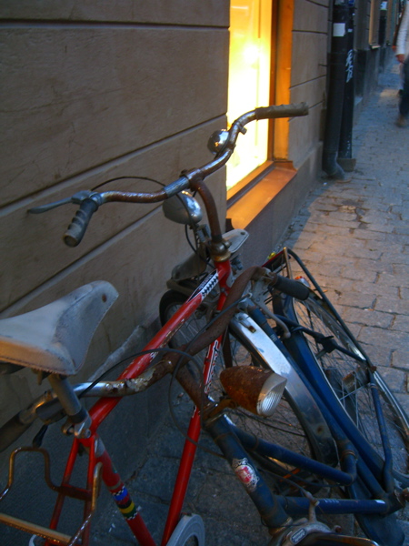 Bikes in Sodermalm