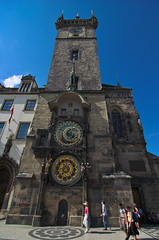 The Town Hall Clock (John the Monkey) Tags: prague praha czechrepublic oldtown eskrepublika starometske starometskenamesti
