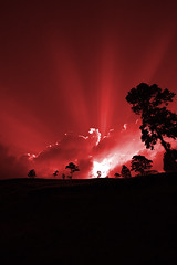 We Are All But Shadow Puppets (javajive) Tags: sunset red indonesia volcano java shadowpuppets volcanicsunset