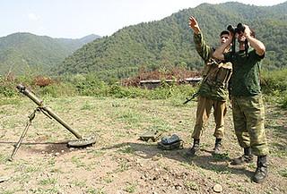 Kodori Tal in Abchasien - abkhazian kodori gorge