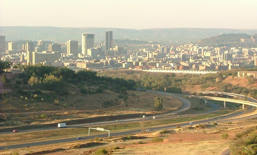 uitzicht op Pretoria