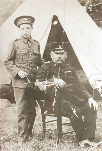 Boy Solider & William Arthur West
