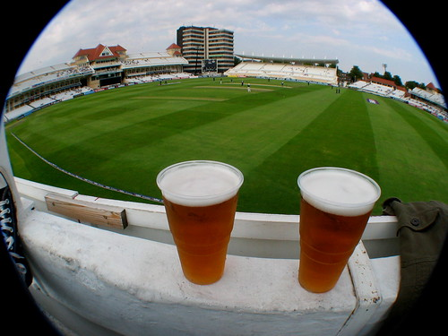 Photo- Cricket and Beer (neil-san@flickr