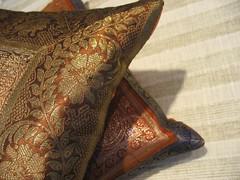 Elephant & Orange Pillows