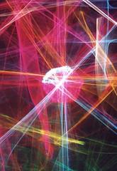 Multichromatic Beams (Reciprocity) Tags: light colour film glass 35mm interestingness nikon experimental fuji superia interestingness1 refraction lensless caustics 100asa photogram pl nikomat nikkormat lightart printscan experimentalphotography reciprocity refractograph 4410g11