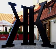 "Give me a ""K"" (mtchm) Tags: k museum prague modernart kafka kklogo kkfav"