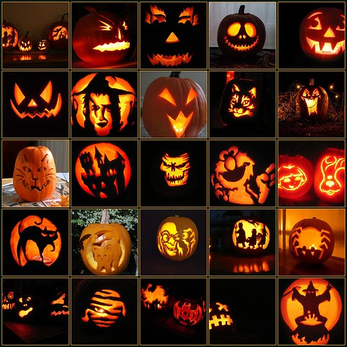 Halloween Faces (by mojeecat)