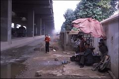 (david goodis) Tags: china highway social growth suburbs kunming fracture economy provia100f
