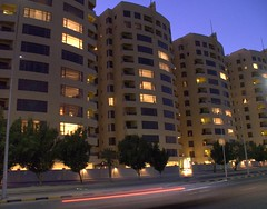 Trust Towers (Bu Yousef) Tags: building apartments flats kuwait bu fintas yousef