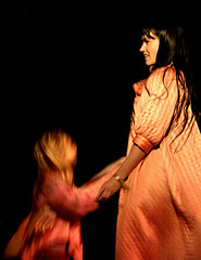 COCOROSIE Dancing (kirstiecat) Tags: music chicago cocorosie hideoutblockparty touchandgo radiofreechicago