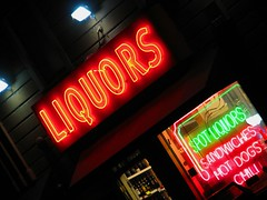 spot liquors (pbo31) Tags: california old city black color sign northerncalifornia shop night dark bay neon noir different weekend character favorites richmond september odd sanfranciscobayarea bayarea font neonsign eastbay script liquors left 06 baycity metrocity metroplex metroarea urbanarea