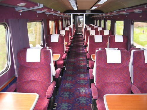 Train charter - private First (1st) Class carriage (UK)