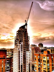 the ever expanding city (Jamie Amodeo) Tags: toronto ontario canada clouds book extreme picasa olympus hdr bayst lookingwest e500 photomatix intrestingness i500 evolt500 intrestingness15 jamieamodeo