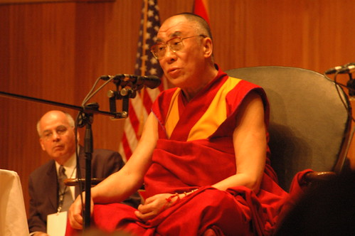 Dalai Lama at Buffalo faculty dialogue