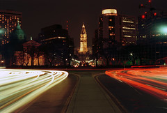 Benjamin Franklin Parkway (re-scanned from film 2008) (kchbrown) Tags: city urban streets philadelphia outdoors centercity cityhall explore philly nikoncoolscan benfranklinparkway phillyist minoltaxgmslrfilmcamera