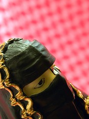I've got a miniature secret hijab (Olivander) Tags: woman macro miniature bokeh muslim uae middleeast hijab figure yetanotherobscuremusicalreference