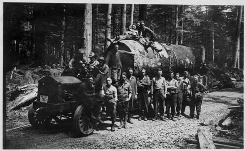 Spruce Logging Truck (c. 1918)