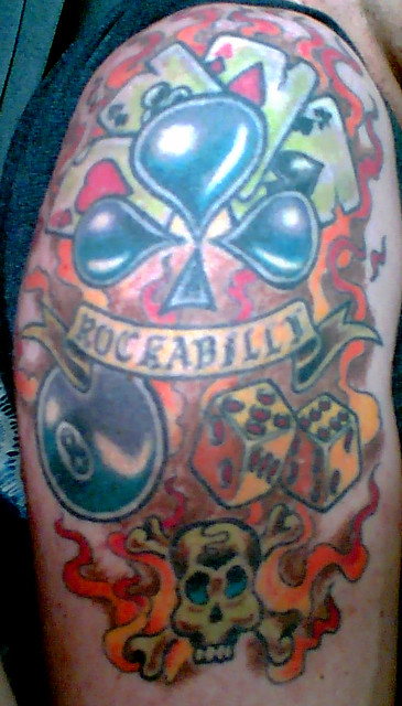 Rebel Tattoo. I met this guy called David last summer, who was a very