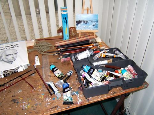 La table et les couleurs